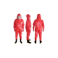 Buy cheap Conjoined Fire Fighting XL PVC Acid Chemical Safety Suit product