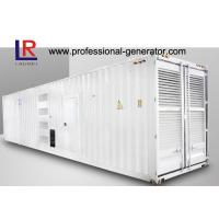 Buy cheap Silent Diesel Container Generator 800kw 1000kVA in 60HZ with Cummins KTA38 - G2 Engine from wholesalers
