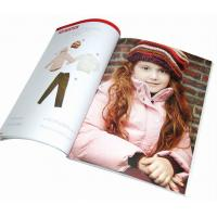 Buy cheap Children Clothing Catalog Printing Services For Garments Promotion from wholesalers