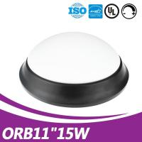 Buy cheap new driverless 11inch 15w surface mount round black glass led ceiling light fixture ul listed commercial ceiling light from wholesalers