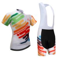 Buy cheap high quality Custom dry fit 100% polyester jersey cycling Shorts and bibs with full sublimation from wholesalers