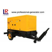 Buy cheap 200kVA Silent Trailer Generator Set with Radiator Cooled Electrical Cummins Engine product