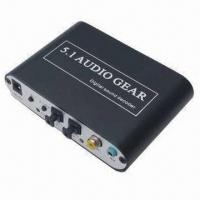 Buy cheap 5.1Channel DTS AC-3 Digital Audio Gear Decoder Sound 3X 3.5mm Output SPDIF PS3 from wholesalers