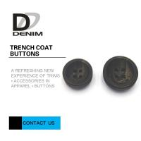Buy cheap Concave Surface Trench Coat Buttons Diverse Design With Strong Simulation from wholesalers