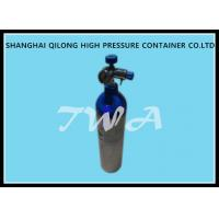 Buy cheap 2.5L Scuba Diving Cylinder High Pressure With Aluminum , Steel Material from wholesalers
