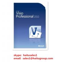 Buy cheap Office Product Key Codes For Microsoft Visio Professional 2010 Key from wholesalers