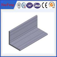 Buy cheap High quality Aluminum angle with ISO9001:2008 certificate product