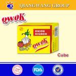 Buy cheap Qwok 10g halal onion flavour seasoning cube bouillon cube from wholesalers