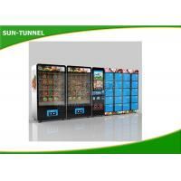 Buy cheap Chicken And Beef Fast Fresh Food Vending Machine CE Certification from wholesalers