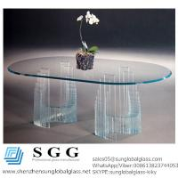 Buy cheap Excellence quality sensations bonded glass table from wholesalers