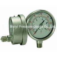 Buy cheap All Stainless Steel Pressure Gauge (MY-SSN-116) from wholesalers