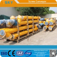 Buy cheap Cement Fly Ash Mineral Powder FDA Screw Conveyor Machine from wholesalers