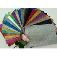 "Buy cheap 1/128"" Glitter Mixed Colors PU Glitter Fabric PU Cloth Backing For Christmas Box product"