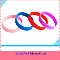 Buy cheap cheap debossed silicone bands from wholesalers