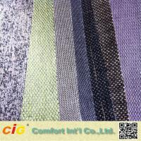 Buy cheap Yarns Weaving Sofa Upholstery Fabric Chenille Fabric Stocks Plain from wholesalers