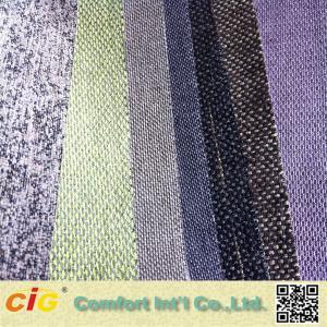 Buy cheap Yarns Weaving Sofa Upholstery Fabric Chenille Fabric Stocks Plain product