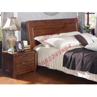 Buy cheap New American Style Solid Wood Bed with Wardrobe for Luxury Home Decoration product
