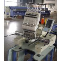 Buy cheap Intelligent 3D Cap Single Head Embroidery Machine , Multi Color Embroidery Machine  450 x 330mm from wholesalers