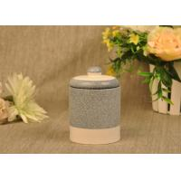 Buy cheap Hand Made Ceramic Candle Jar Anti Thermal For Air Refreshment from wholesalers