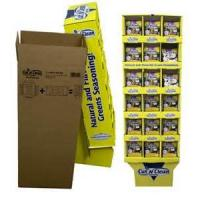 Buy cheap 350g Coating Paper + 170g E Flute POP Cardboard Displays For Drinks , POP Up Display Banners from wholesalers