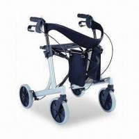 Buy cheap Rollator, Made of Aluminum Frame and Powder Coating, with Shopping Bag/600mm Overall Width from wholesalers