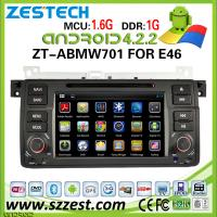 Buy cheap ZESTECH 2 Din Car Radio for BMW E46 Android 4.2.2 with gps Capacitive Touch Screen Multipoint from wholesalers