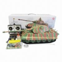 Buy cheap 1/16 RC King Tiger Tank with Smoke and Sound Functions and Infrared Control Version from wholesalers