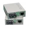 Buy cheap Single Mode Fiber Optic Media Converter Gigabit To Rj45 1550nm 10Base-T / 100Base-TX from wholesalers