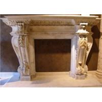 Buy cheap Indoor Natural Stone Fireplace,Marble ,Granite Fireplace,Fireplaces.Stone carving from wholesalers