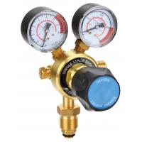 Buy cheap Light Duty Compressed Gas Pressure Regulator , CO2 Argon Gas Regulator With Flow Meter from wholesalers