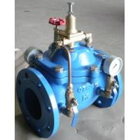 Buy cheap Hydraulic Control Pressure Reducing Valves DN100 PN16 With Double Gauge from wholesalers