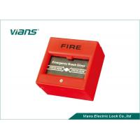 Buy cheap Red Break Glass Emergency Call Point , Emergency Door Release Button from wholesalers