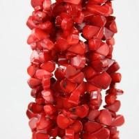 """Buy cheap Natural Red Coral Gemstone Tube Loose Beads 16"""" product"""