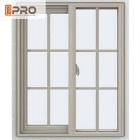 Buy cheap Powder Coated Aluminium Sliding Windows Color Optional With Flexibility Frame from wholesalers