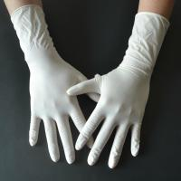 Buy cheap Powder Free Disposable Medical Gloves , Medical Rubber Gloves Fingertip Textured product