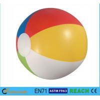 Glossy Panel Colorful Beach Balls , High Safety Personalized Mini Beach Balls
