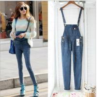 Buy cheap Casual Womens Fashion Overalls , Spring Fashion Ladies Jeans Sexy Skinny Denim Pants from wholesalers