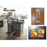 Buy cheap 3 Side / 4 Side Seal Sachet Packaging Machine , Ketchup Shampoo Packing Machine from wholesalers