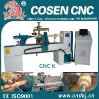 Buy cheap NEW CNC Wood Turning Lathe machine for woodworking with wood lathe chuck from wholesalers