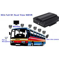 Buy cheap 8 Channel Full D1 HDD Bus Mobile DVR3G / 4G MDVR Support GPS Tracking from wholesalers