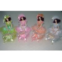 Buy cheap 10 Inch Porcelain Doll Music Box / Victorian Porcelain Doll product