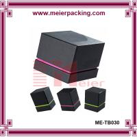 Buy cheap Luxury design texture paper top and bottom Set up Gift Packaging Perfume Box for Men from wholesalers