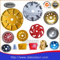 Buy cheap Sintered / Brazed Diamond Grinding Tools , Diamond Grinding Plate for concrete from wholesalers