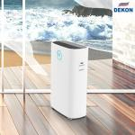 Buy cheap 600CMH HEPA H14 PM2.5 Filtration air purifier with UVC air sterilizer and dininfection digital display touch control from wholesalers