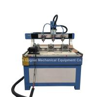 Buy cheap 3 Heads 3 Rotary Axis Wood Metal Stone CNC Engraving Cutting Machine from wholesalers