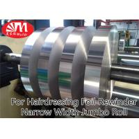 Buy cheap Narrow Width Aluminium Foil Jumbo Roll 15cm*20 Micron For Hairdressing Foil Rewinder from wholesalers