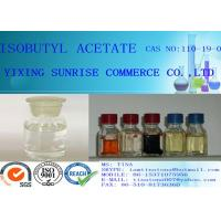 Buy cheap Isobutyl Acetate Colorless Flammable Liquid CAS 110-19-0  99.00% min from wholesalers
