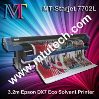 Buy cheap Eco Solvent Large Format Printer Epson DX7 print head 1440dpi from wholesalers