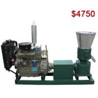Buy cheap AZSPLM300AD Diesel Pellet Mill Ideal for Wood and Feed Pellet Making from wholesalers