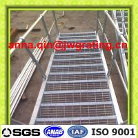 Buy cheap galvanized steel stair case/steel outdoor staircase from wholesalers